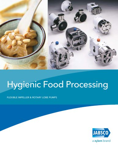 INTERNATIONAL Jabsco Hygienic Food Processing Brochure