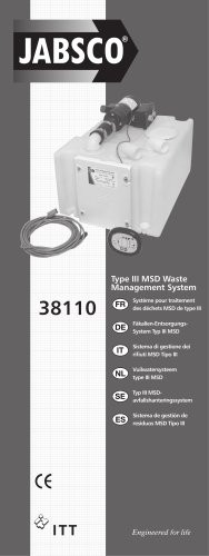 Type III MSD Waste