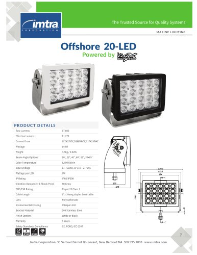 Offshore 20-LED