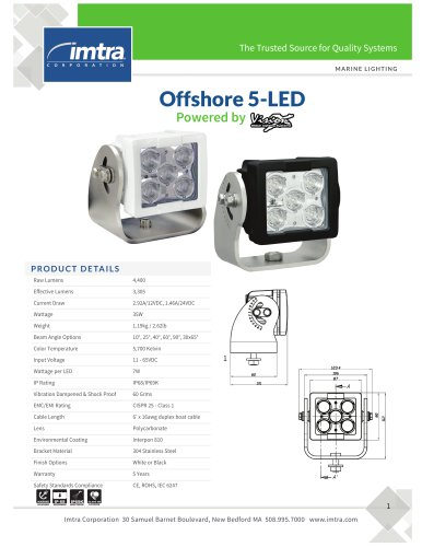 Offshore 5-LED