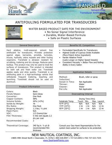 TranShield? Transducer Antifouling Paint