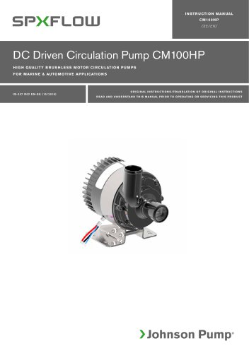 CM100HP High Power manual ‖ EN, SV