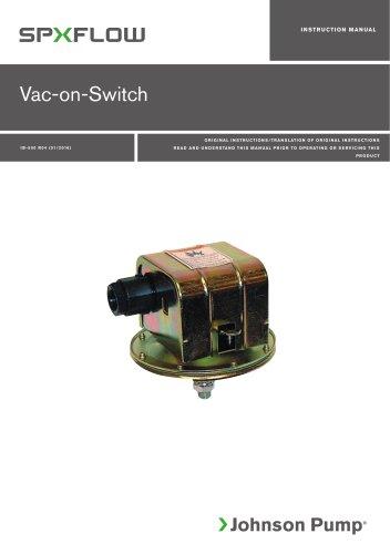 Vacuum Switch manual ‖ EN, DE, ES, FR, IT, SV