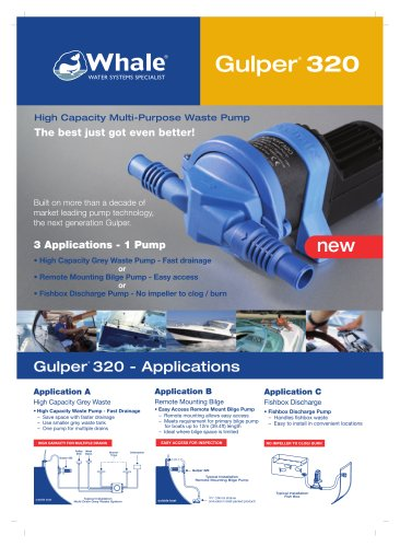 Gulper 320 Product Brochure