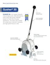 Gusher 30 Manual Bilge Pump - 1