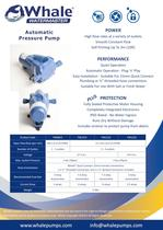 NEW Whale Watermaster Automatic Pressure Pump