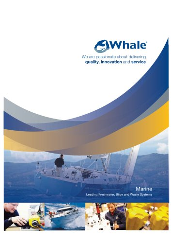 Whale Marine Brochure (English)