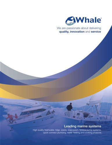 Whale Marine Catalogue 2015