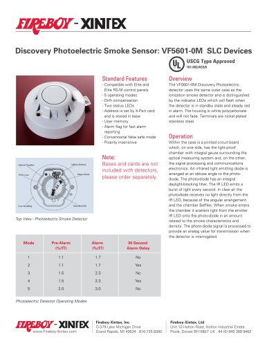 Discovery Photoelectric Smoke Sensor Fireboy Xintex Pdf