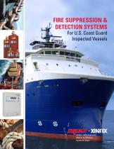FIRE SUPPRESSION & DETECTION SYSTEMS  For U.S. Coast Guard Inspected Vessels
