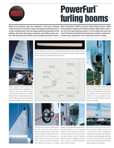 Furling boom system