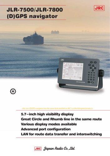 GPS/DGPS NAVIGATOR:JLR-7500/JLR-7800