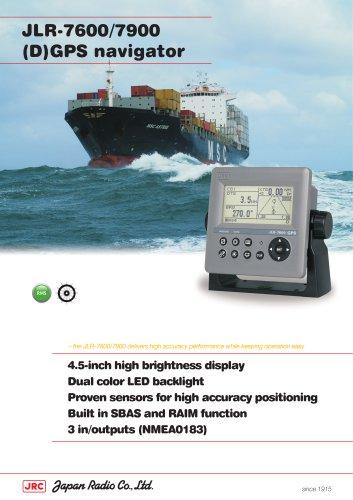 GPS/DGPS NAVIGATOR JLR-7600/JLR-7900