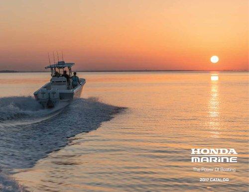 Honda Marine 2017 Brochure