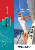 Master series inverters, chargers & conv...