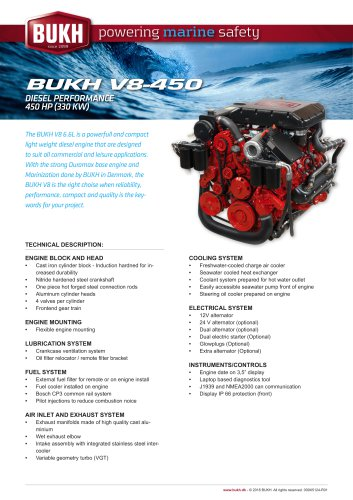V8 450