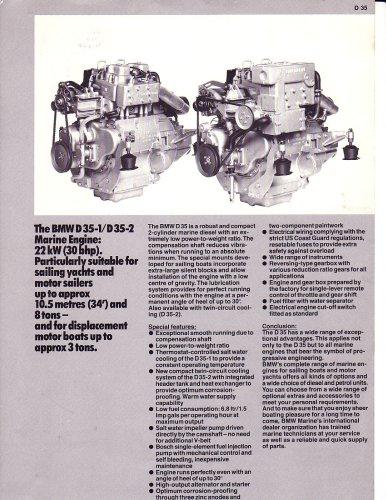 BMW Marine Engine D35 Diesel