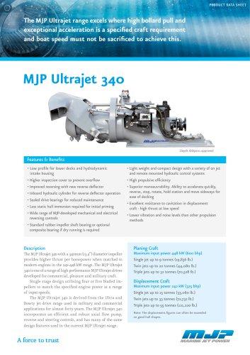 MJP Ultrajet 340