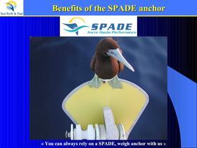 Benefits of the SPADE anchor - 1