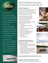 Elco Electric Launch Fact Sheet
