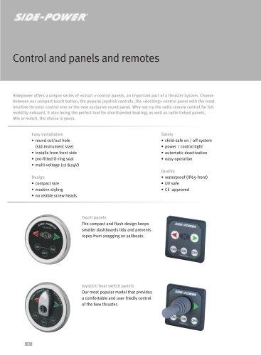 Control & panels & remotes brochure