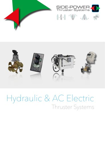 Side-Power Hydraulic  & AC Thrusters 2014