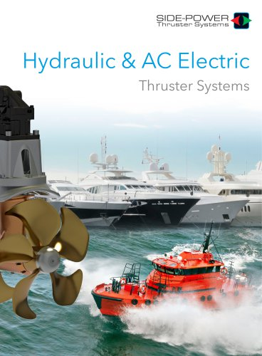 Side-Power Hydraulic & AC Thrusters 2018
