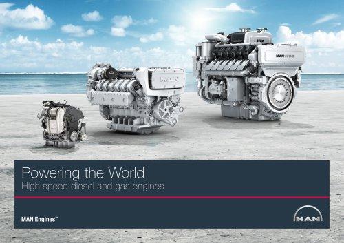 MAN Engines Image Brochure
