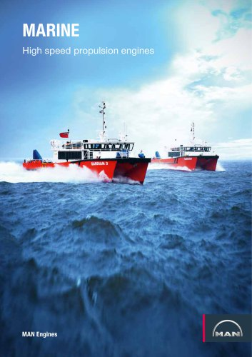 Marine Commercial Shipping Brochure