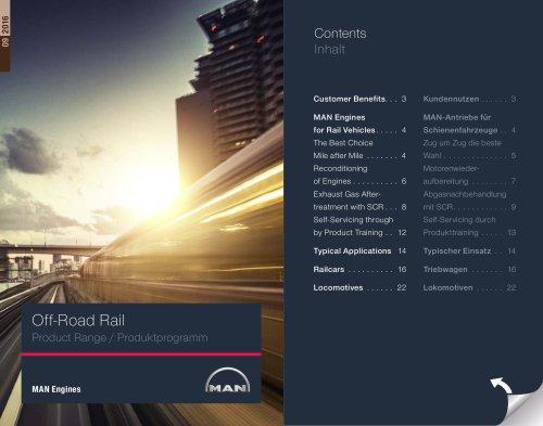 Off-Road Rail Product Range