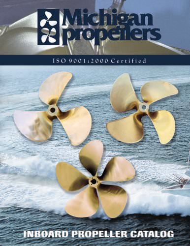 Michigan Propellers Catalogue
