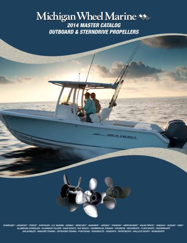 Outboard & Sterndrive Propellers 2012 Catalog