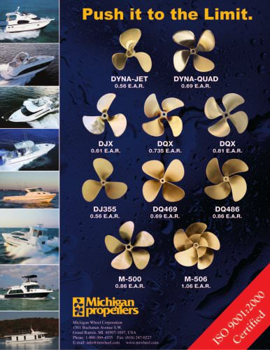 Powerboat Propellers