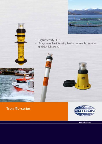 brochure tron ml series