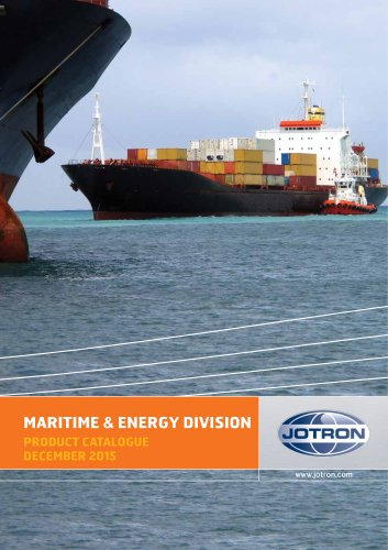 Maritime & Energy Division Product Catalogue 2015