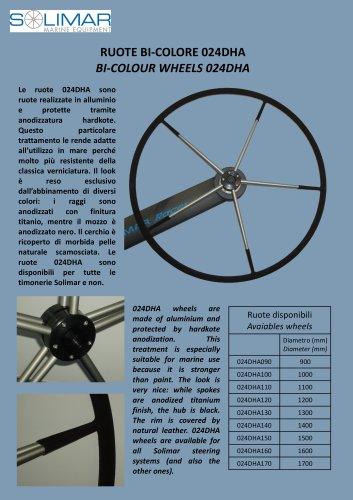SOLIMAR anodized alu double spoke wheels