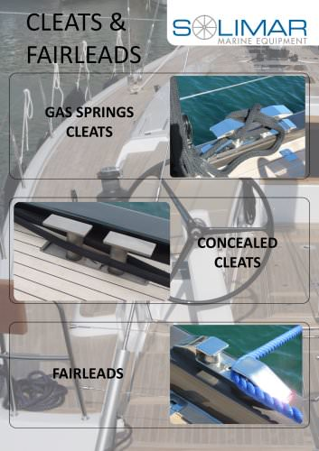 SOLIMAR Cleats and Fairleads