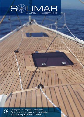 SOLIMAR flush deck hatches