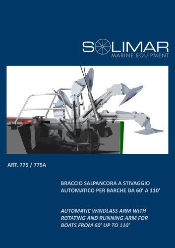 SOLIMAR Salpancora - Windlass Arm