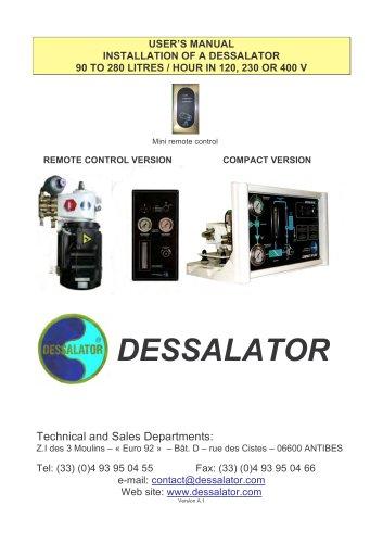 D90 - D 280 REMOTE CONTROL