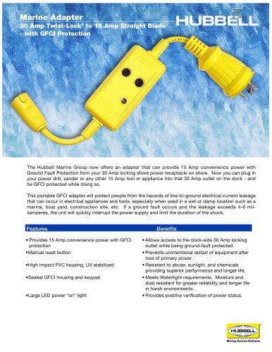 30 Amp Marine Adapter