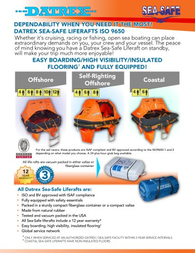 EASY BOARDING/HIGH VISIBILITY/INSULATED FLOORING†  AND FULLY EQUIPPED!