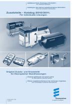 Additional parts catalog 2010/2011