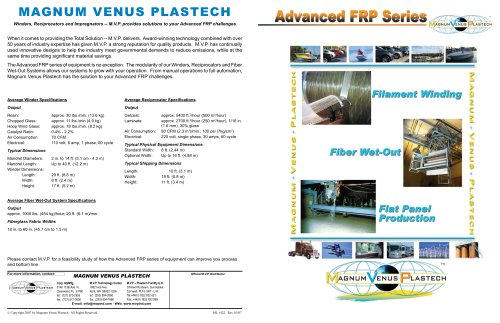 Advanced FRP Series 11x17 Brochure-ML1422