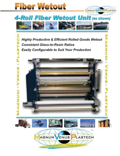 Fiber Wetout Unit Brochure-ML1402