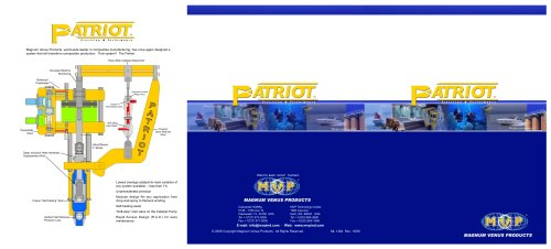 Large Tri-Fold Patriot Brochure