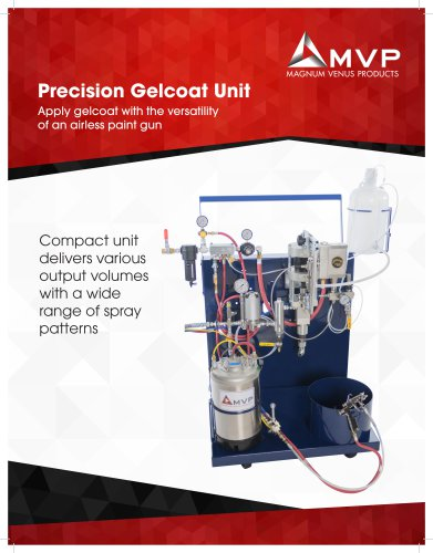 Precision Gelcoat Unit