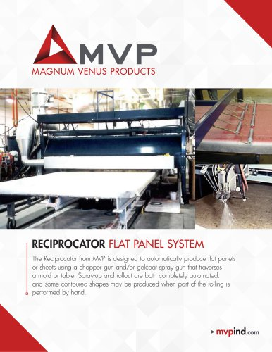 RECIPROCATOR FLAT PANEL SYSTEM