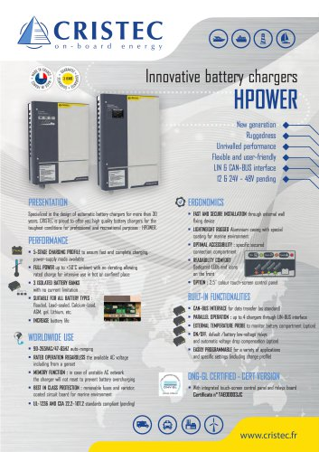Innovative battery chargers - HPOWER