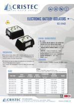 RCE battery isolators